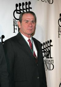 Tommy Lee Jones at the Great Sports Legends Dinner at the Waldorf Astoria.