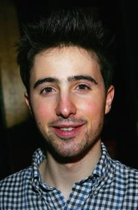 Josh Zuckerman at the after party of the premiere of