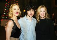 Christina Applegate, Josh Zuckerman and Catherine O'Hara at the premiere of
