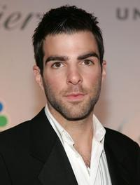 Zachary Quinto at the HBO's Post Golden Globe after party.