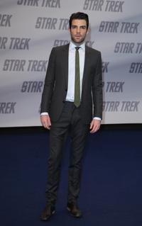 Zachary Quinto at the Germany premiere of