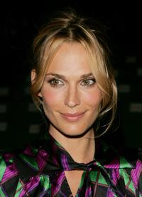 Molly Sims at the Diane Von Furstenberg Spring 2007 fashion show during the Olympus Fashion week.