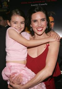 Ariel Gade and Jennifer Connelly at the premiere of