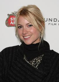 Laura Ramsey at the screening of