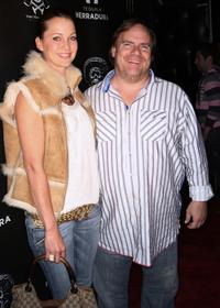 Kevin Farley and Guest at the Fifth Anniversary party and Cinco de Mayo celebration.