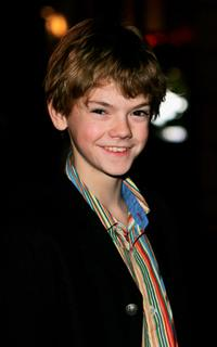 Thomas Sangster at the UK premiere of