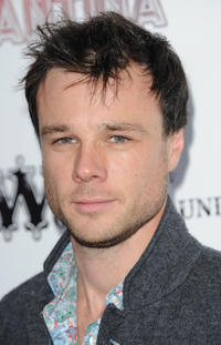 Rupert Evans at the dance company Cantina's London production which features a mix of acrobatics and dance in England.