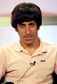 Simon Helberg at the CBS portion of the Television Critics Association Press Tour.