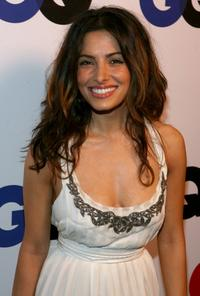 Sarah Shahi at the GQ 2007 Men Of The Year celebration.