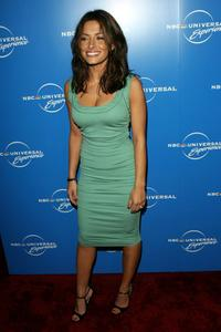 Sarah Shahi at the NBC Universal Experience.