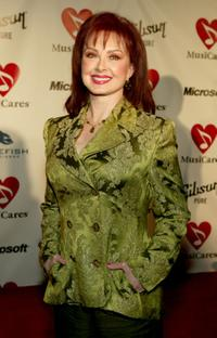 Naomi Judd at the Musicares 2004 Person of the Year Tribute to Sting.