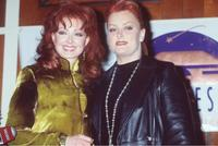 Naomi Judd and Wynonna Judd at the press conference to announce the Judd's Reunion Concert