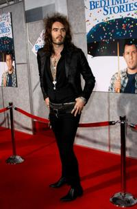 Russell Brand at the premiere of