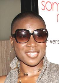 Aisha Hinds at the premiere of