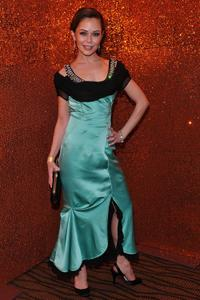 Alexis Dziena at the HBO's Post Golden Globe Awards party.