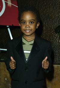Khamani Griffin at the NAACP Image Awards Cocktail reception.