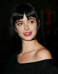 Krysten Ritter at the Mercedes-Benz Presents Famous Cars and Famous People.