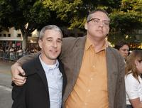 Matt Tolmach and Adam McKay at the premiere of