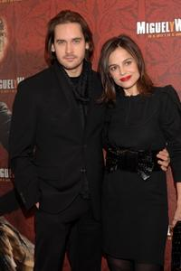 Will Kemp and Elena Anaya at the premiere of