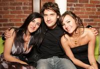 Producer Jennifer Gibgot, Will Kemp and Briana Evigan at the after party of the world premiere of