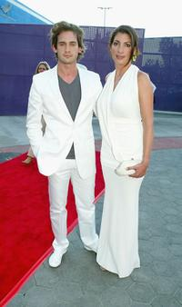 Will Kemp and his wife Gaby at the world premiere of