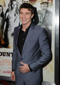 Garrett Hedlund at the California premiere of