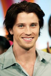 Garrett Hedlund at the MTV's Total Request Live.