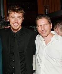 Garrett Hedlund and Ian Jeffers at the after party of the premiere of