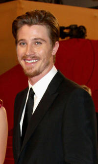 Garret Hedlund at the premiere of