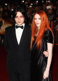 Jack White and Karen Elson at the royal world premiere of