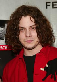 Jack White at the premiere of