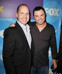 Mike Henry and Seth MacFarlane at the premiere party of