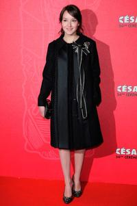 Anais Demoustier at the Cesar Film Awards 2009.