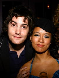 Actors Jim Sturgess and T.V. Carpio the after party for a N.Y. screening of