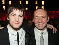 Jim Sturgess and Kevin Spacey at the after party premiere of