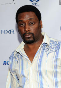 Big Daddy Kane at the NY Giant Justin Tuck's Celebrity Billiards Tournament.