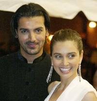 John Abraham and Lisa Ray at the opening night gala screening of