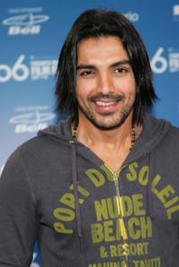 John Abraham at the press conference of