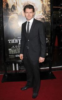 James Badge Dale at the premiere of