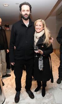 Emile Sherman and Caroline Sherman at the screening of