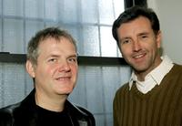 Ciaran O'Reilly and Randall Newsome at the photocall of