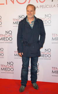 Lluis Homar at the Spain premiere of