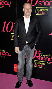 Lluis Homar at the Shangay Awards 2010 in Spain.