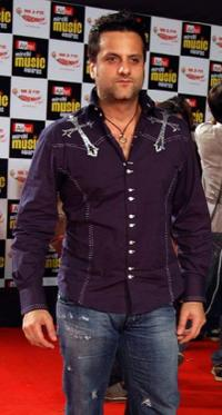 Fardeen Khan at the Airtel Mirchi Music Awards 2009.