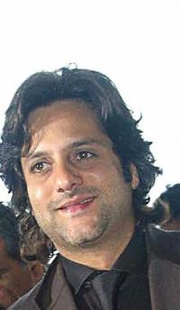 Fardeen Khan at the Swami Vivekananda centre.