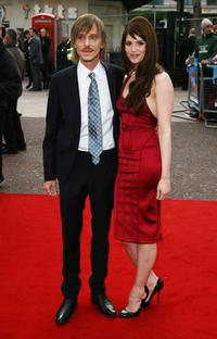 Mackenzie Crook and Gemma Arterton at the premiere of