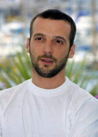 Mathieu Kassovitz at the 54th Cannes Film Festival.