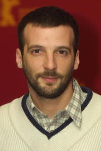 Mathieu Kassovitz at the Berlinale Film Festival.