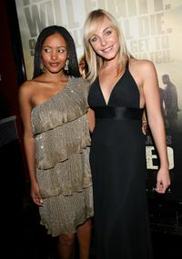 Emelia Burns and Tory Mussett at the special screening of
