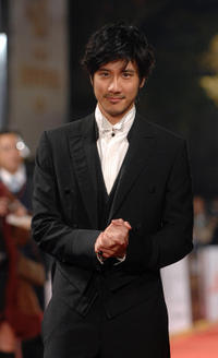 Wang Lee Hom at the Golden Horse Film Awards in Taipei.